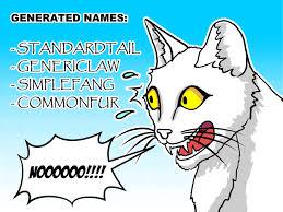 Warrior Cat Names Prefixes