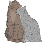 Comparing Cats: Mothers Edition! Ferncloud VS. Bluestar by Brightkit