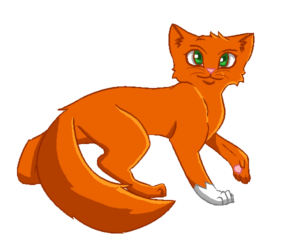 Best warrior cats in second series by Gingerpaw