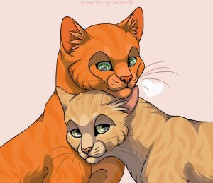 My opinions on Sandstorm × Firestar by Cloudypaw