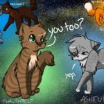Parallel Paths: Ashfur and Thrushpelt by Viperfrost