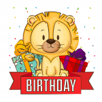 Happy Birthday, Lionkit!