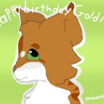 Happy Birthday, Goldenfawn!